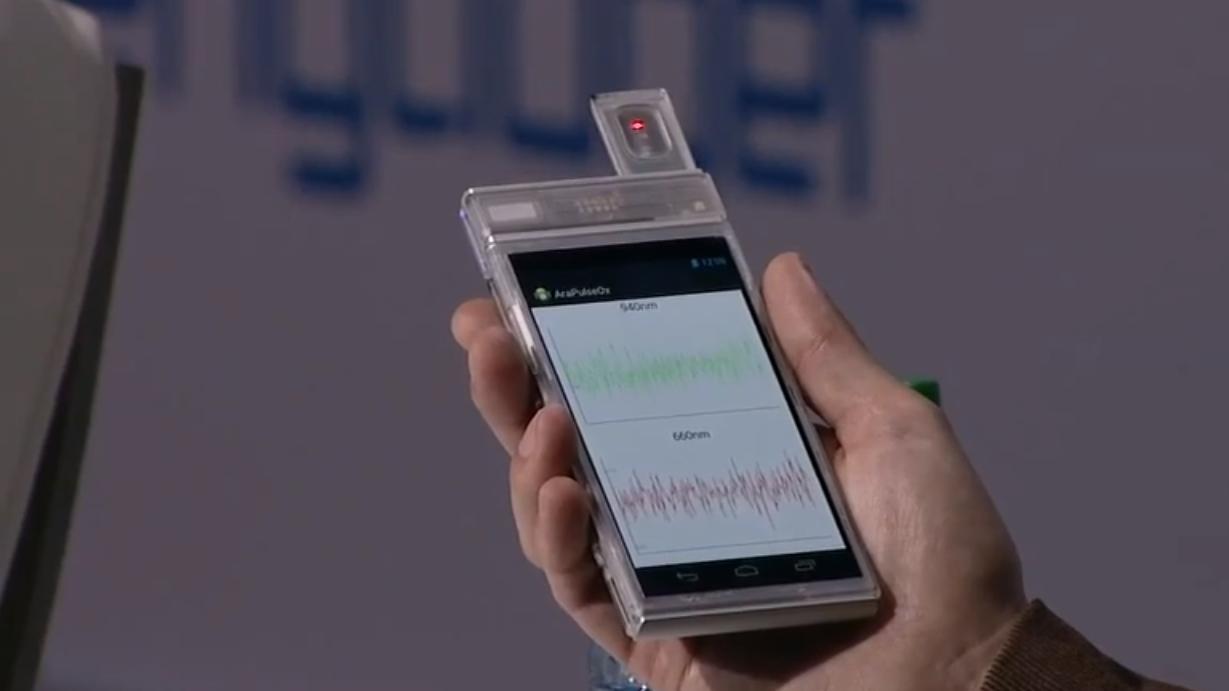 Googles byggesett-telefon kan nå måle oksygeninnholdet i blodet