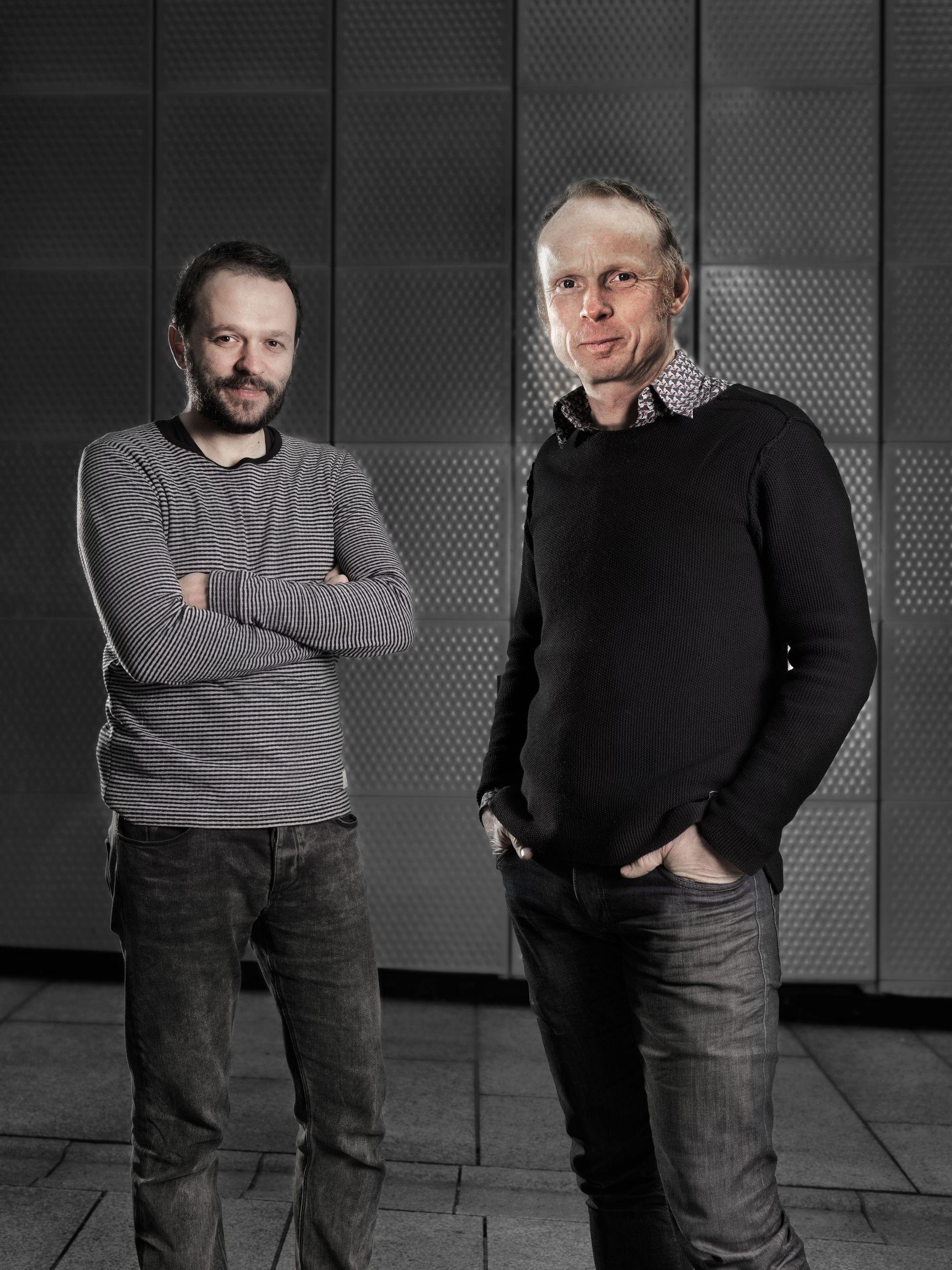 NYE PARADIS: Arkitekt Marko Todorovic og arkitekt Jesper Jorde i TAG Arkitekter har tegnet boligprosjektet Paradisalléen.