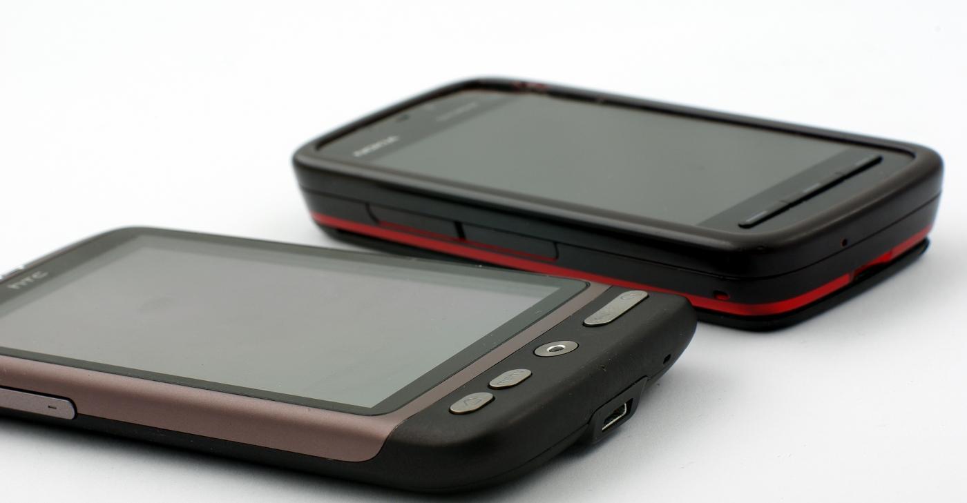 """HTCs """"Nexus One"""" er forholdsvis tynn."""