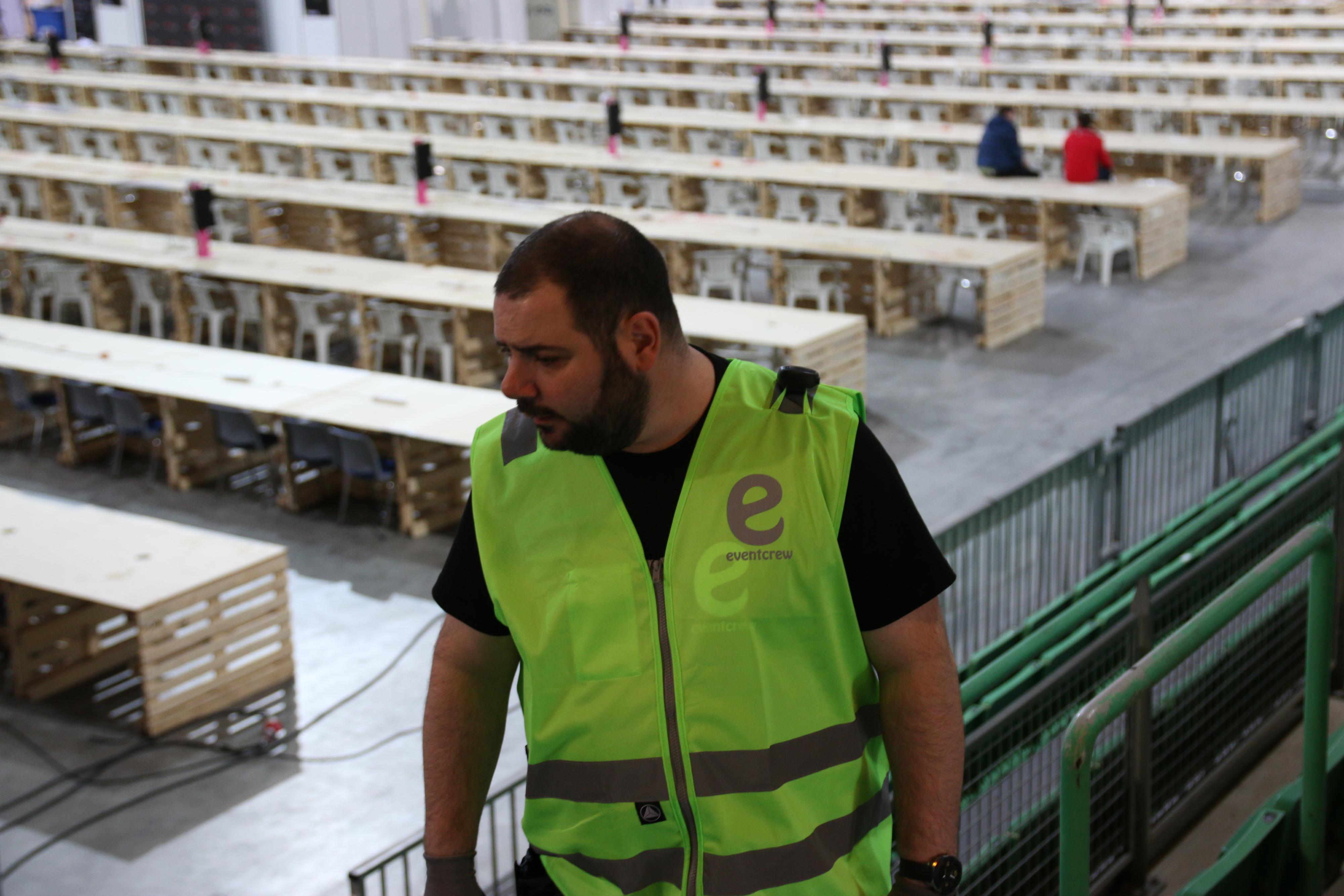 Martin Torp D'Alessandro er produsenten av sendingene i Vikingskipet. .Foto: Ole Henrik Johansen / Hardware.no