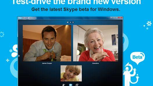 Skype med tiveis videosamtale