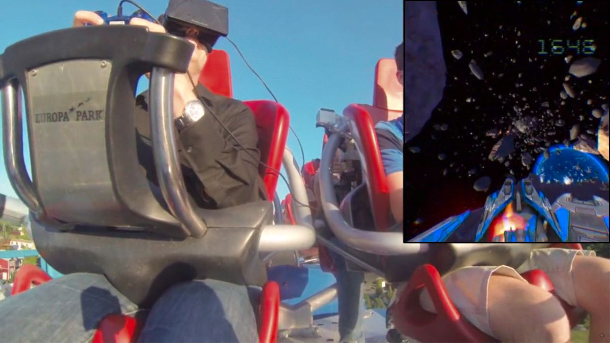 Oculus Rift + Berg-og-dal-bane = sant
