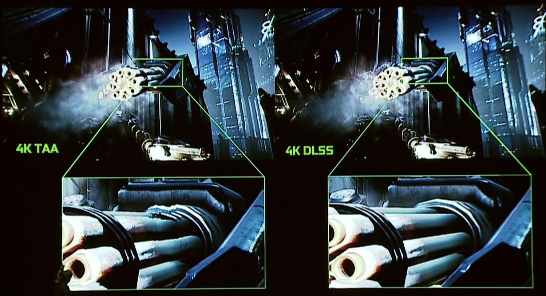 DLSS ble presentert på Nvidias Turing-lansering mandag kveld.