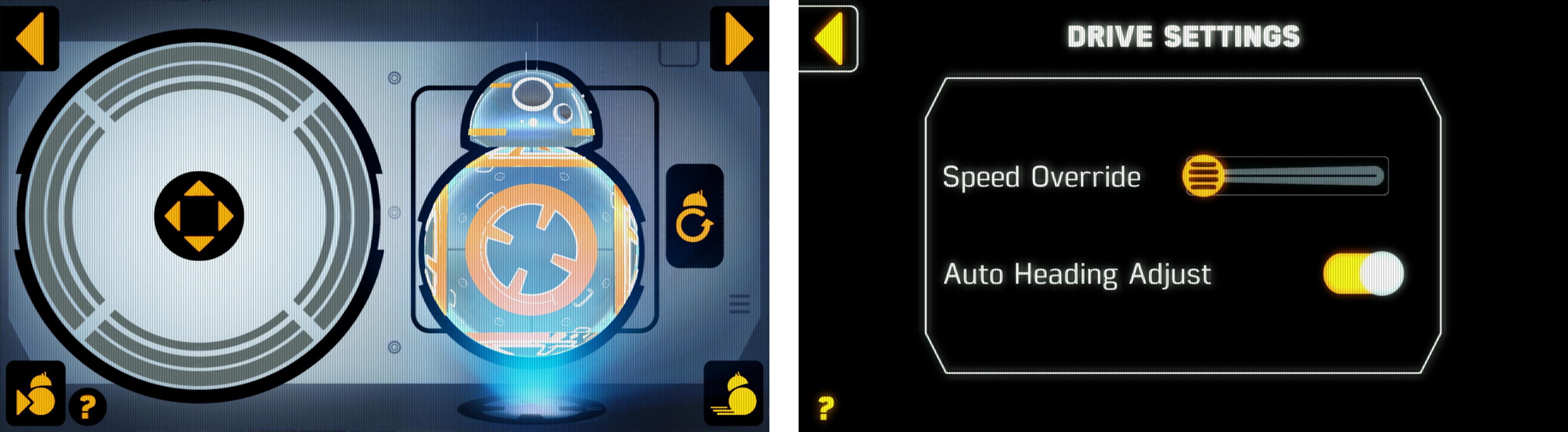 Det er forholdsvis enkelt å styre Sphero BB-8. I hvert fall når den har kommet i gang. Men stiller du hastigheten til topps blir den mer utfordrende. Foto: Finn Jarle Kvalheim, Tek.no