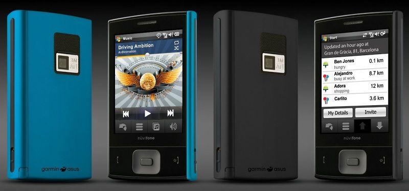 Garmin-Asus lanserer ny mobil