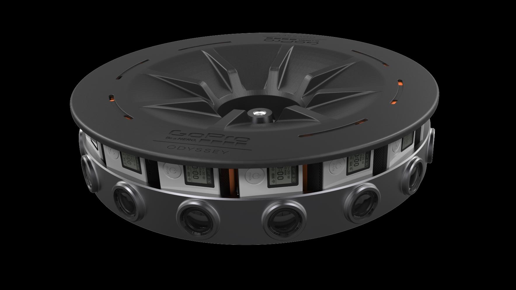 GoPro slipper heftig VR-rigg