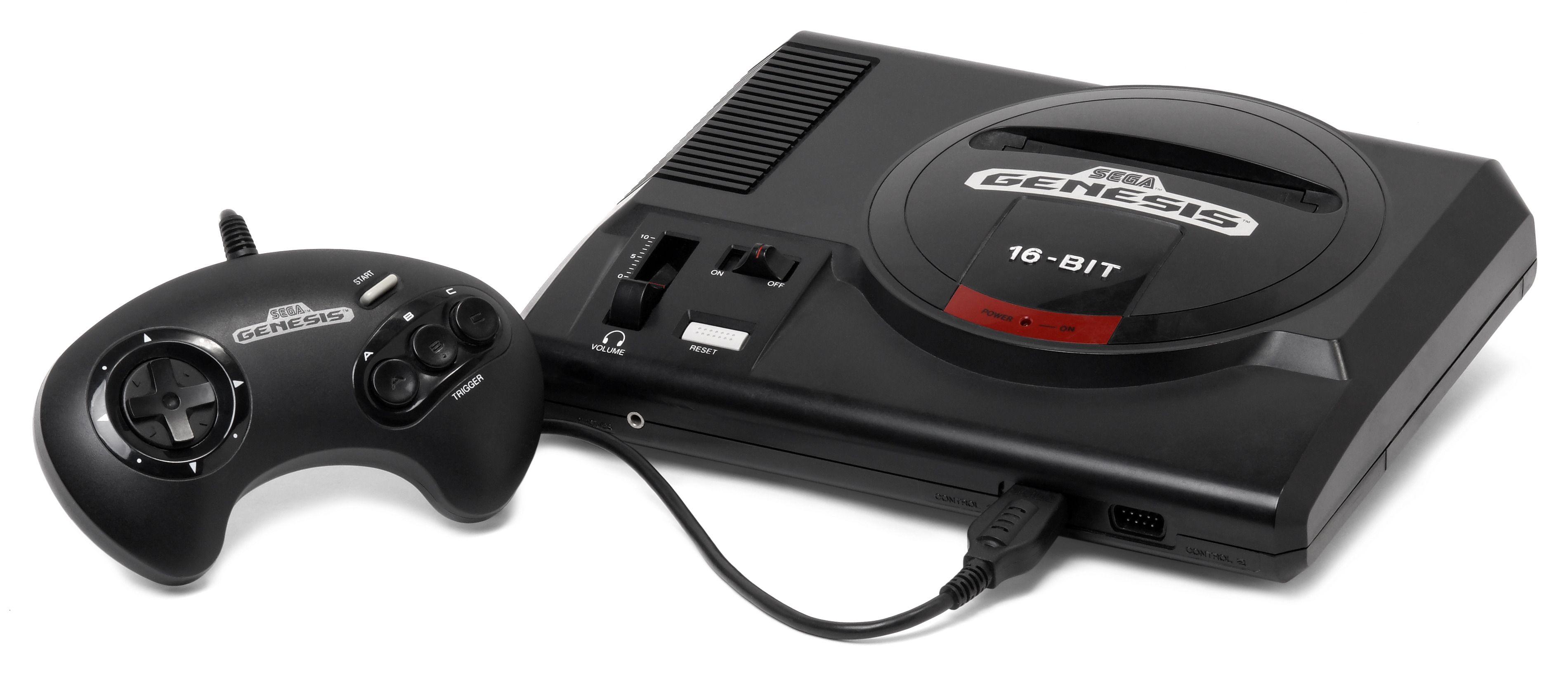 Sega Mega Drive i amerikansk utgave. Foto: Vanamo Online Game Museum