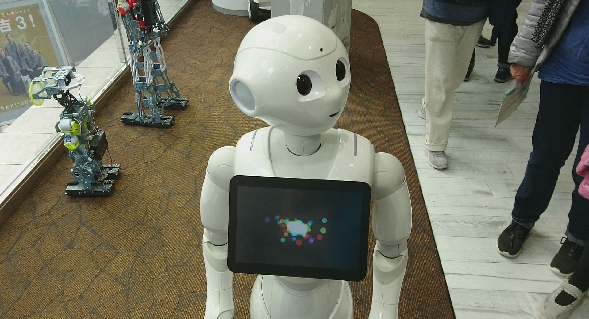 Kanskje blir Sonys nye robot en mer avansert utgave av Pepper.
