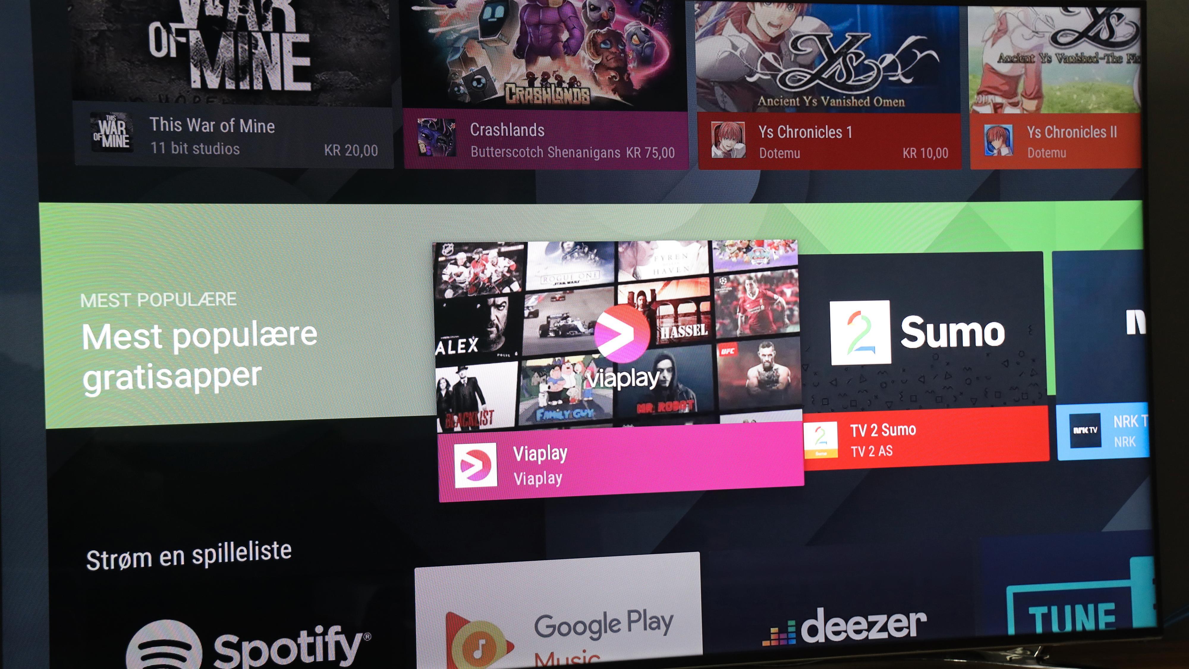 Siden Get-boksen er en Android TV-boks, kan du fylle den med apper fra Google Play Store. Dermed kan du eksempelvis installere appene til andre norske TV-operatører om du har tilgang til flere.