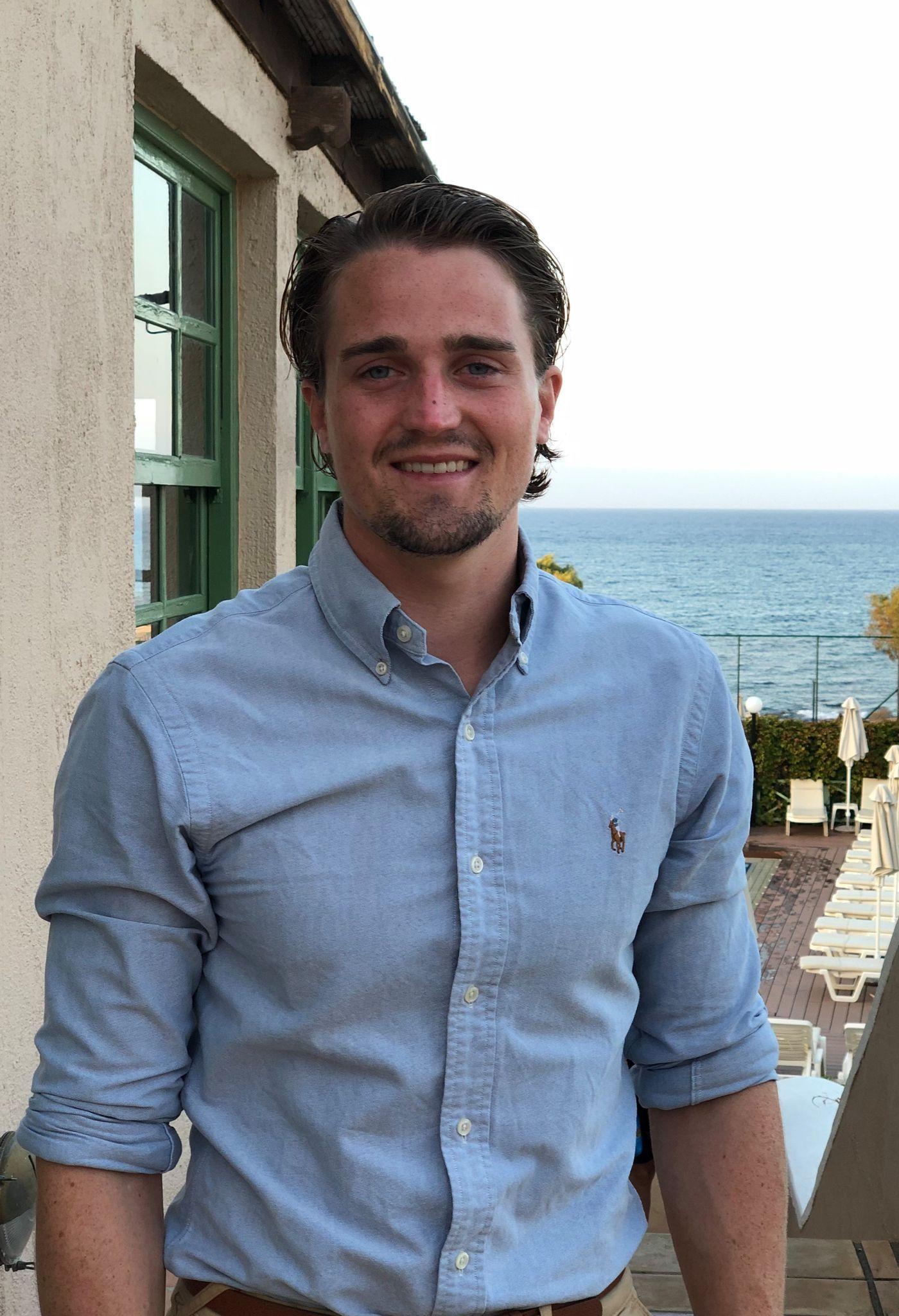 Mathias Tveten Eriksen er ikke fornøyd med sin Sømløs G1.