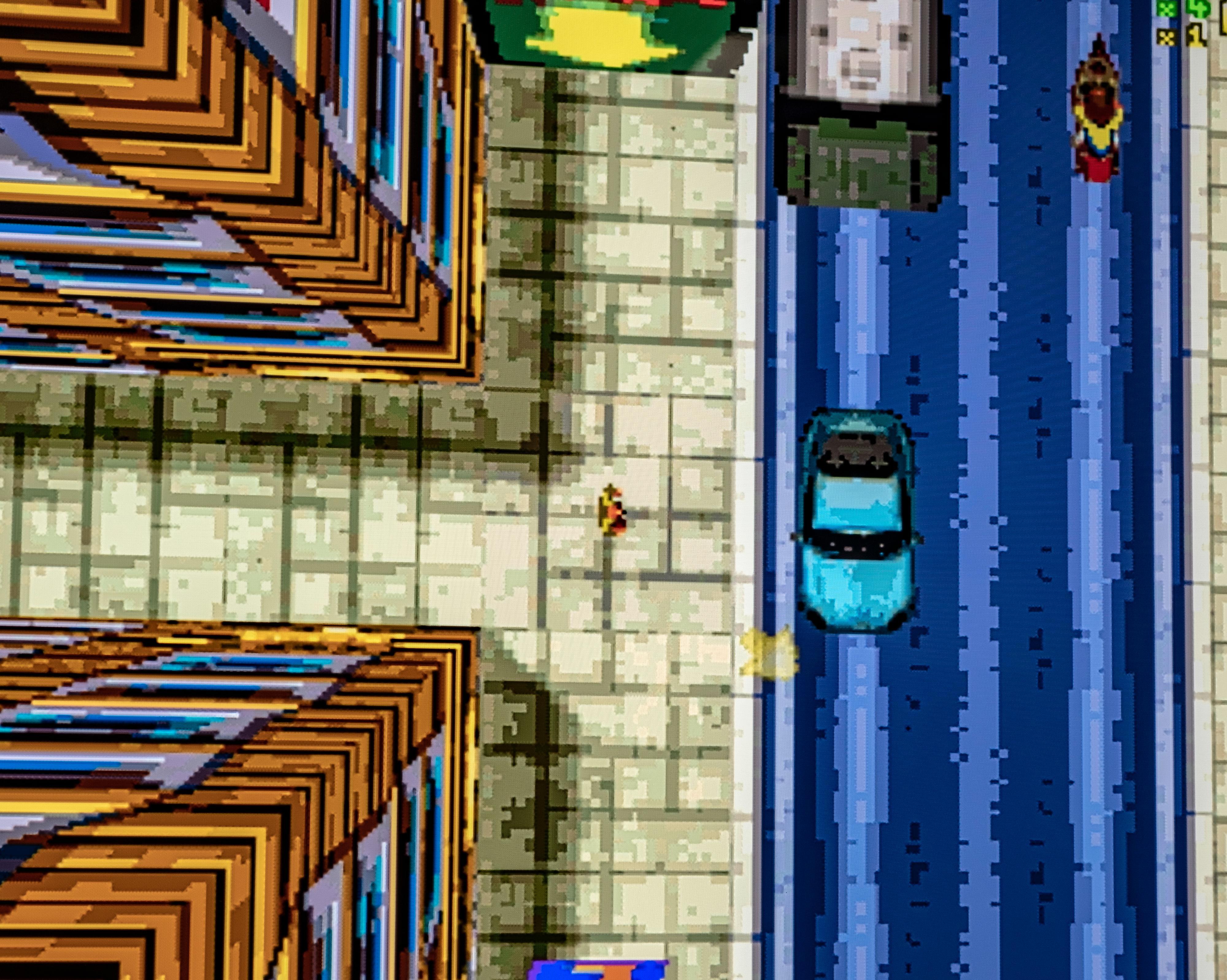 GTA ser slik ut på konsollen - og det er i grunnen et veldig godt spørsmål hvorfor det skal være vanskelig nok å drive til å gå hakkete.