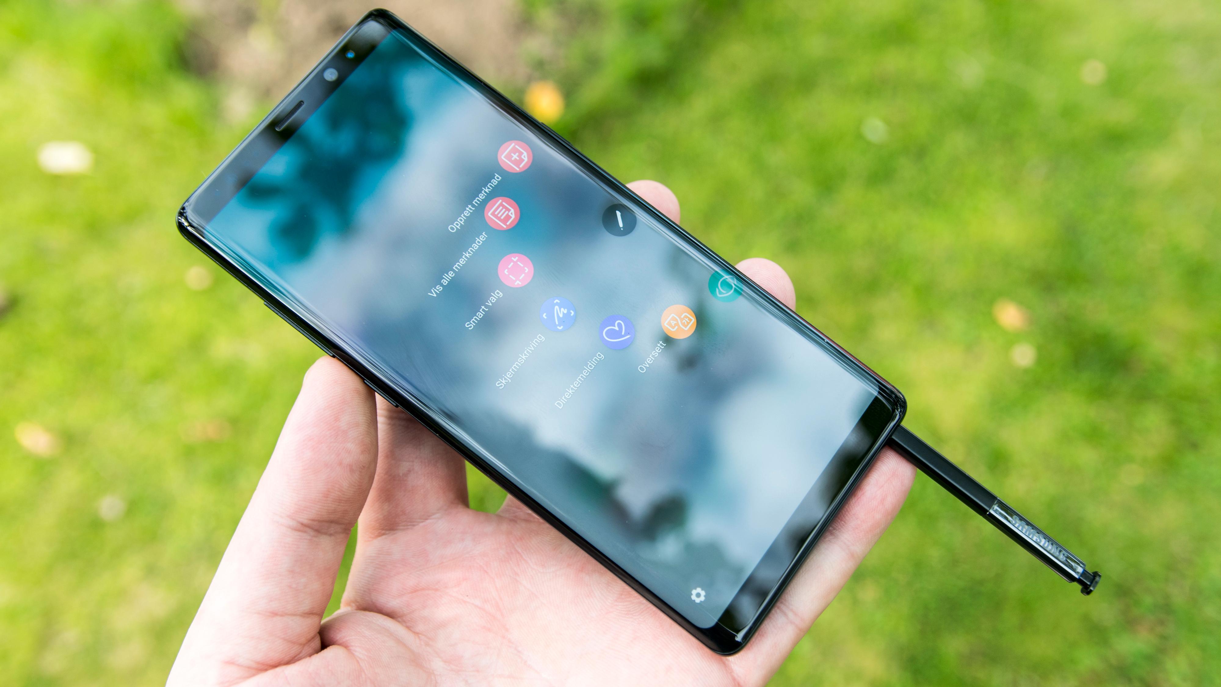 Galaxy Note 8-eiere opplever at telefonen ikke kan lades opp igjen når batteriet går tomt