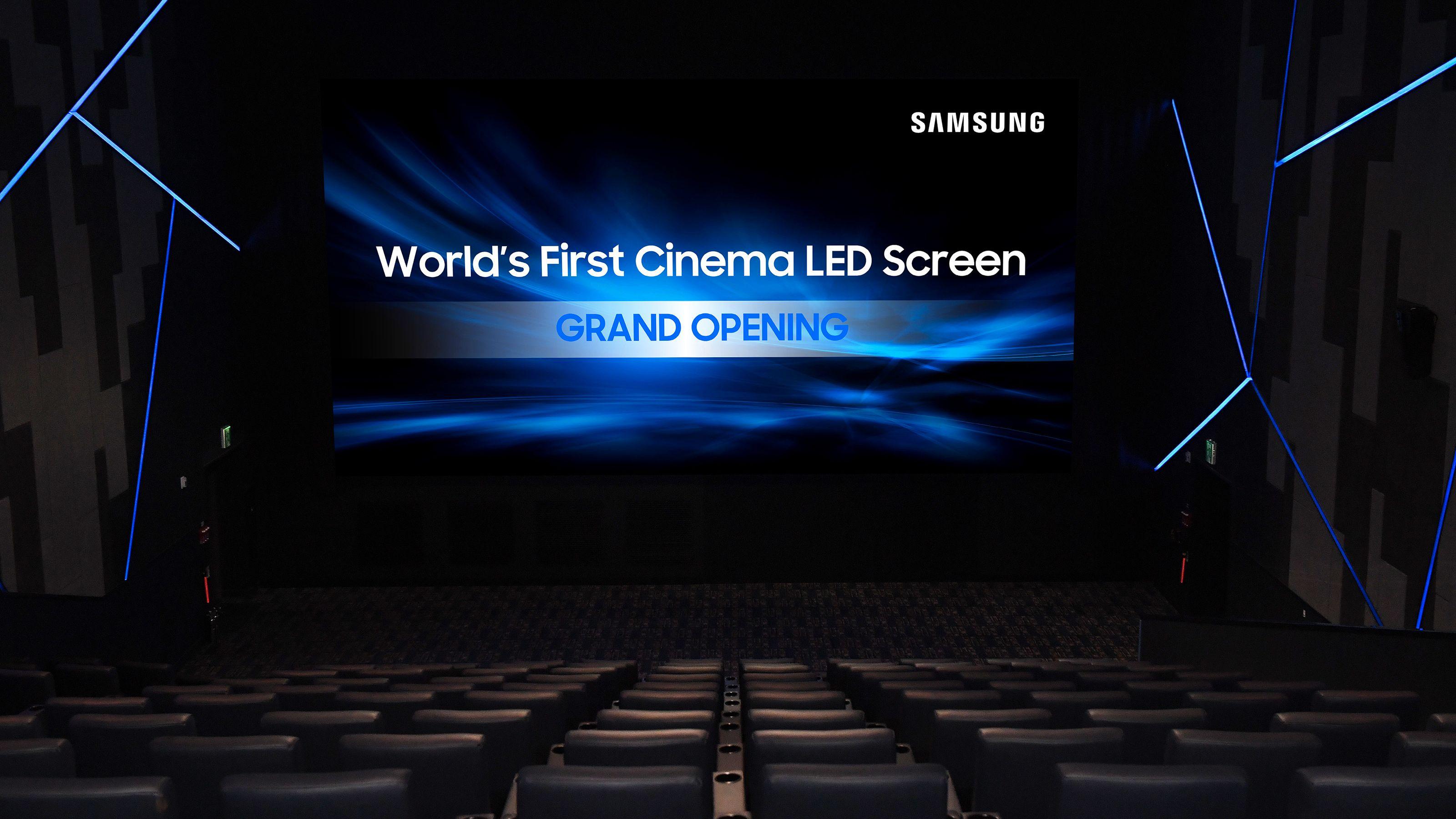 Glem kinolerret – Samsung har laget verdens første LED-kinoskjerm