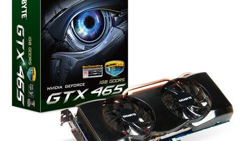Slipper Geforce GTX 465-kort