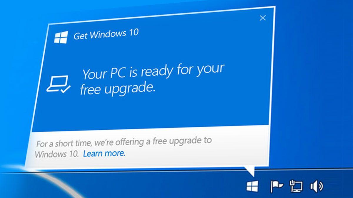 Neste år har du nesten ikke noe valg: Microsoft nærmest tvinger deg til å laste laste ned Windows 10