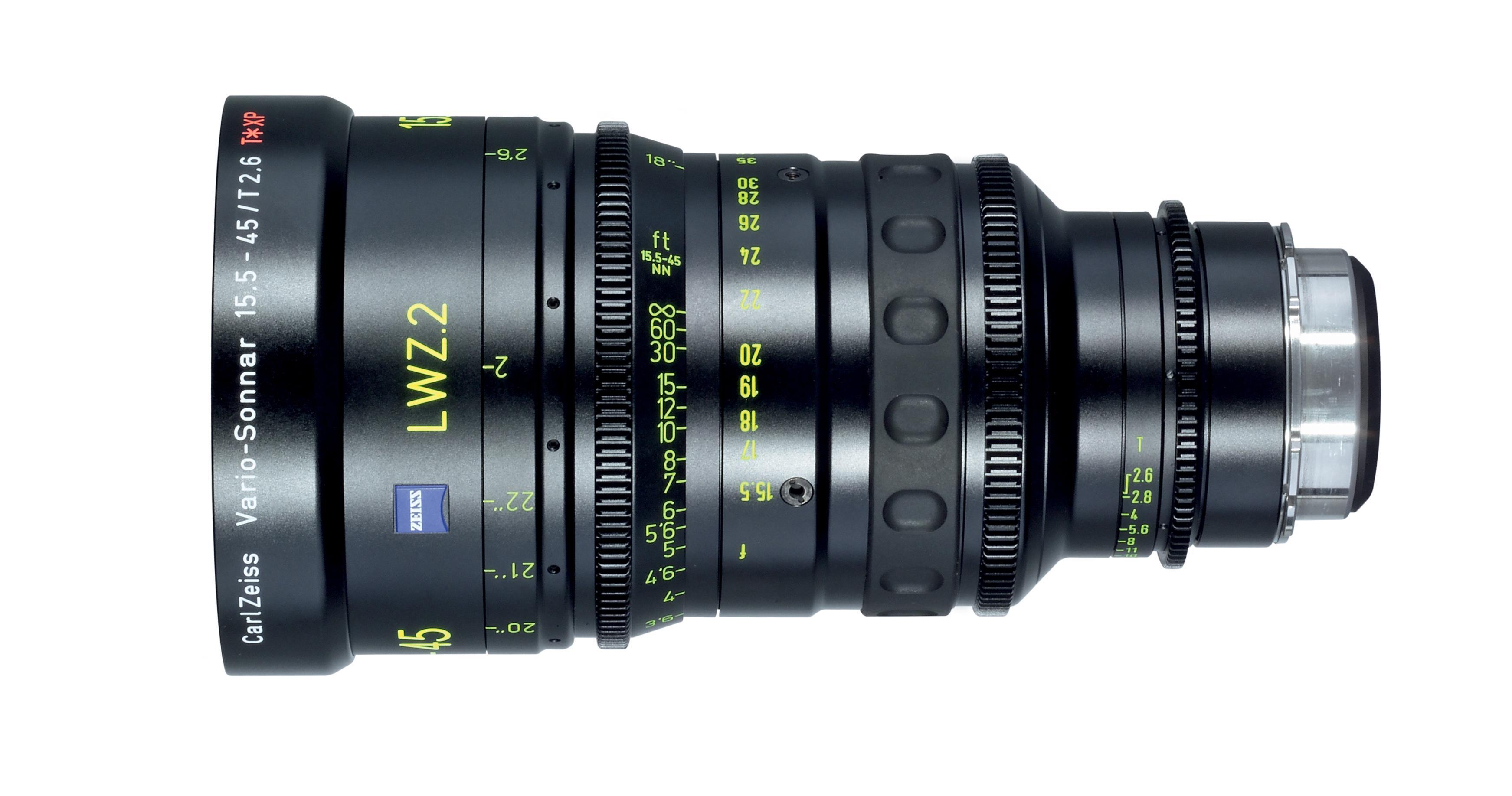 Carl Zeiss slipper proffobjektiver for filmproduksjon
