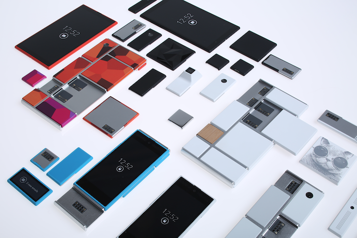Project_Ara_scattered_parts.Foto: Google
