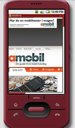 Opera Mini er tilgjengelig til Android.