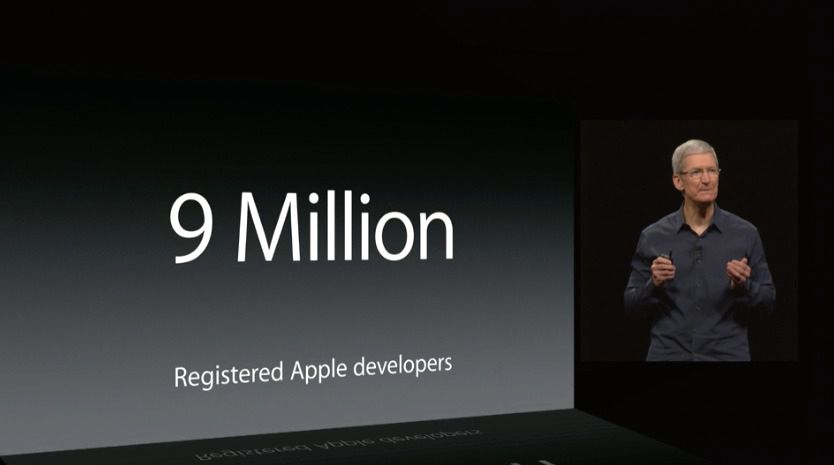 Konkurrentene kan dra ifra Apple Hei Apple, 2017 ringer og