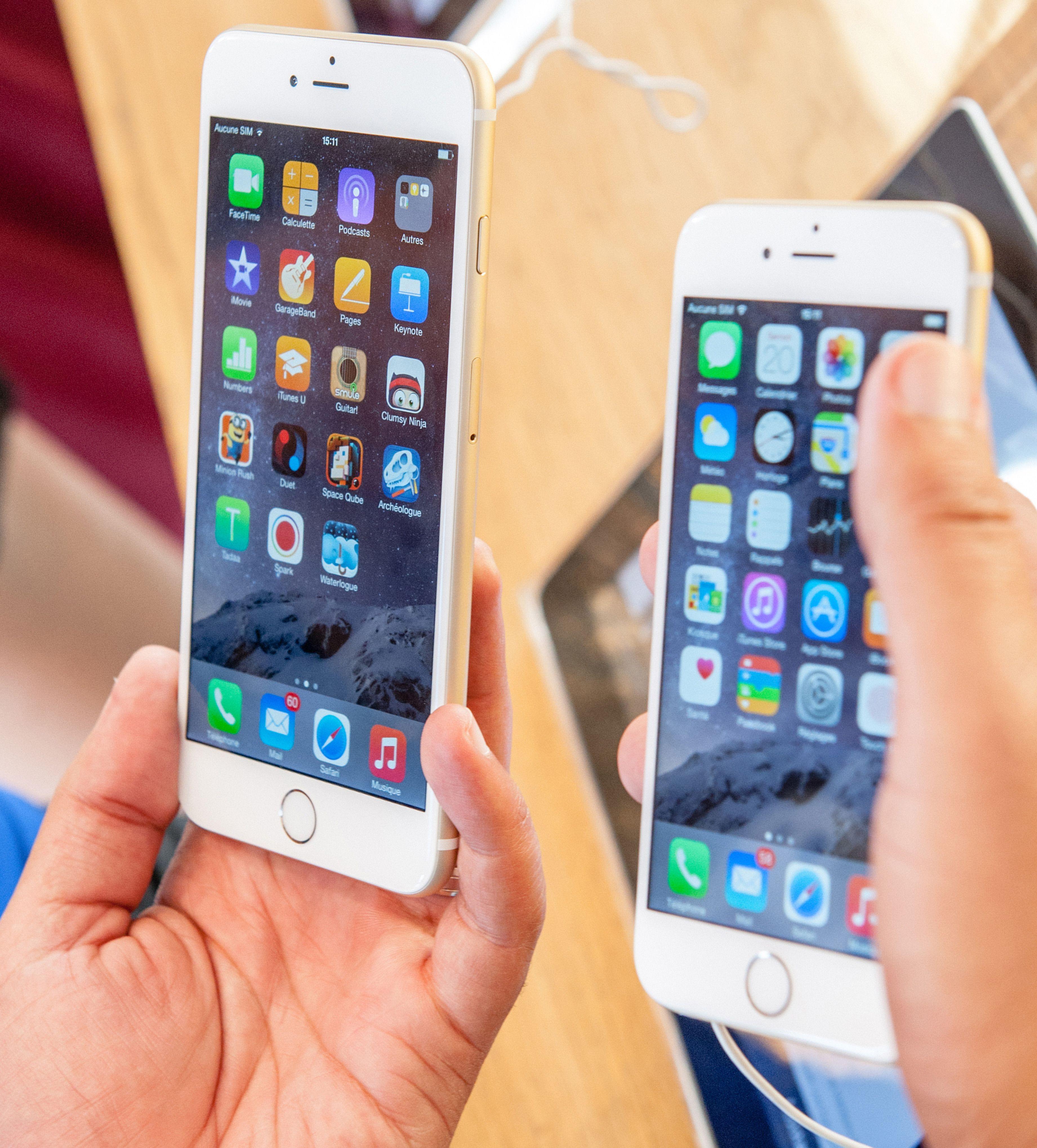 Med overgangen til iOS 8 er kryptering automatisk aktivert for alle iOS-enheter. Har du en eldre enhet bør du aktivere kryptering, eller fylle opp lagringsplassen før du eventuelt gir fra deg telefonen.Foto: Hadrian / Shutterstock.com