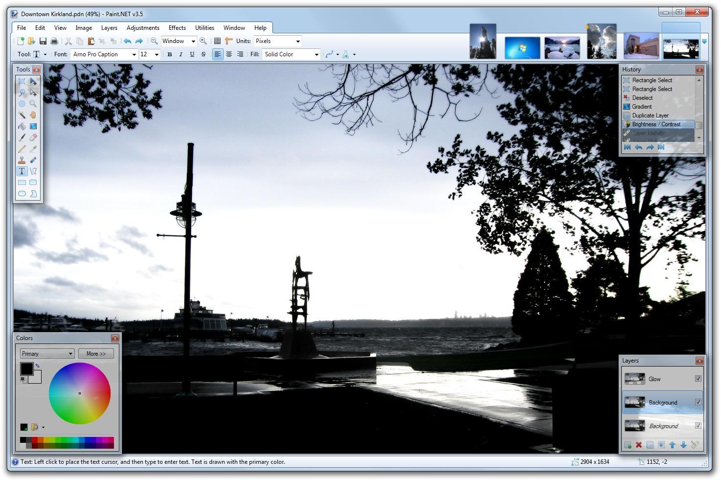 Gratis bildebehandling for folk flest. Nå er en ny versjon av Paint.Net klar for nedlasting.