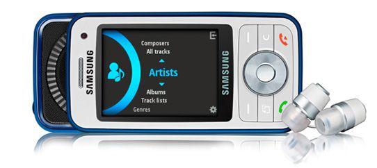 Tre nye musikktelefoner fra Samsung