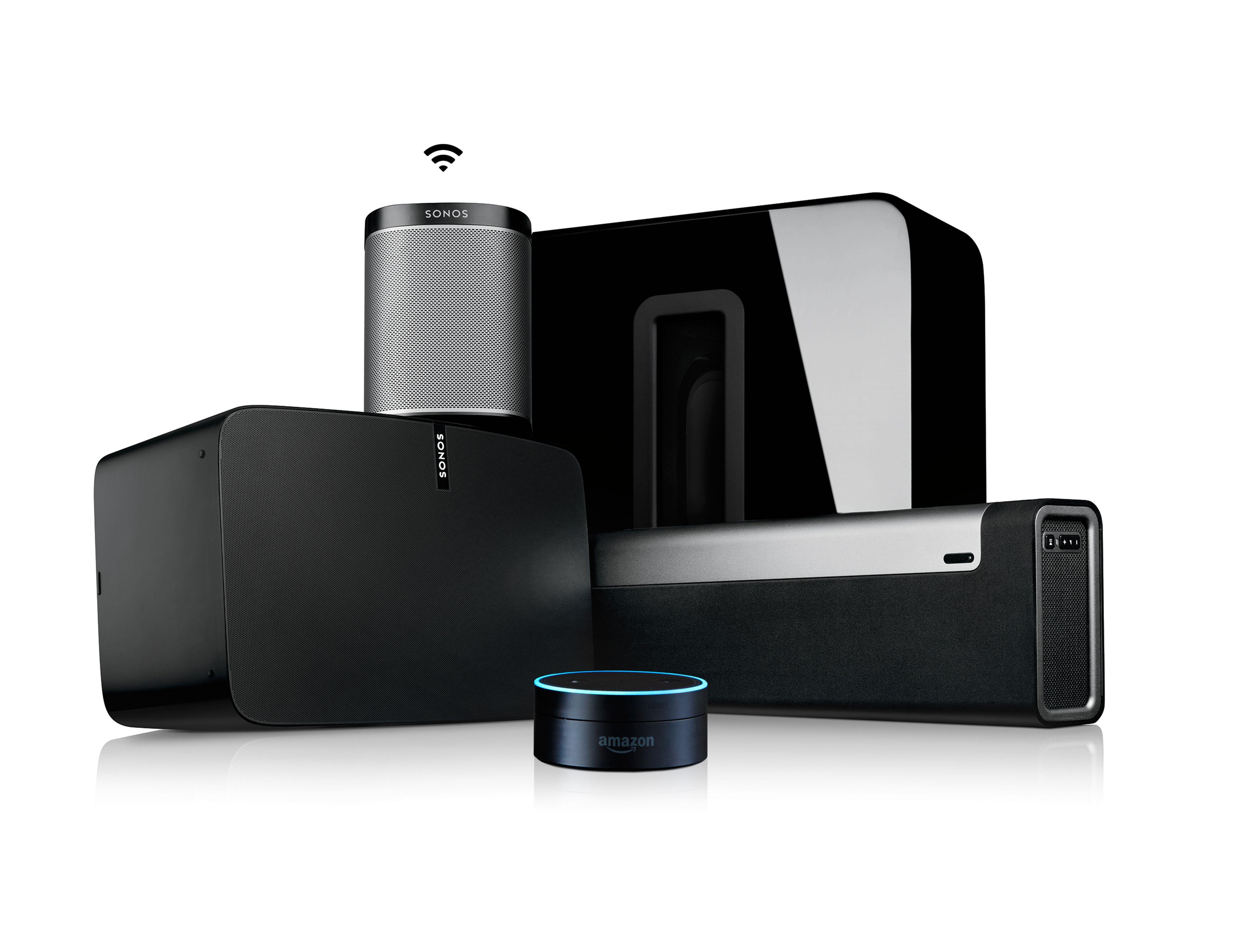 Sonos har flere høyttalermodeller å velge mellom.