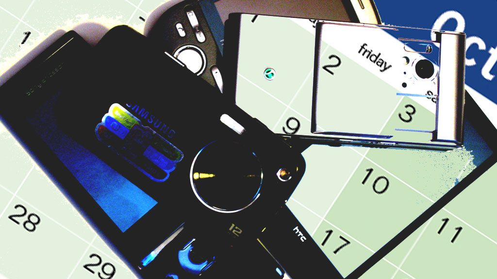 16 nye mobiltelefoner i oktober