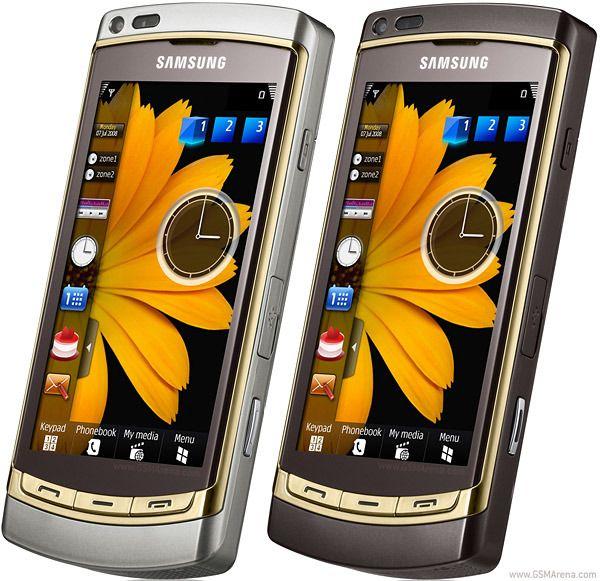 Omnia HD var blant de første telefonene med stor AMOLED-skjerm. Teknologien har fått mye pepper av flere årsaker, men de nyeste mobile AMOLED-skjermene er blant de aller beste på markedet, også med tanke på presis fargegjengivelse.Foto: Samsung