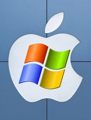 Apple og Windows i harmoni (Bilde: Shutterstock)