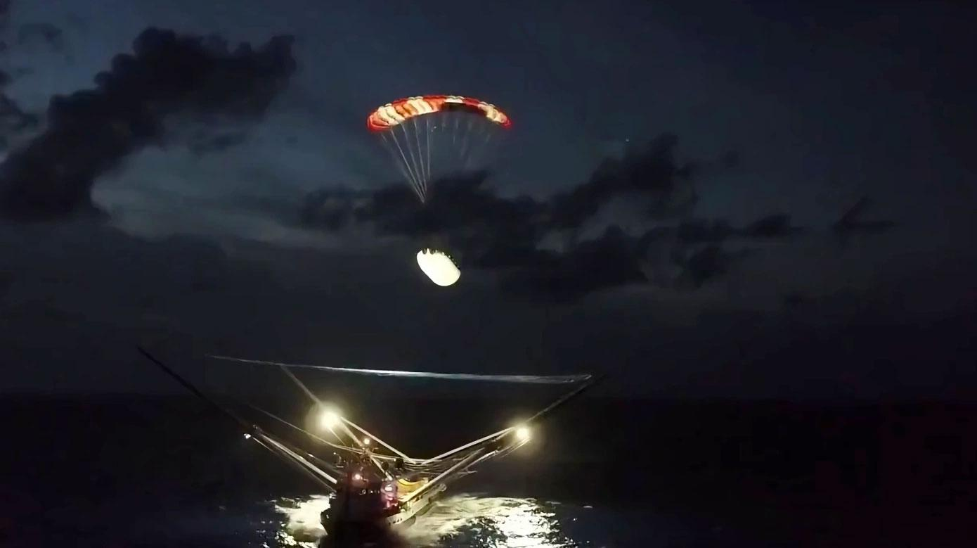 SpaceX feirer ny milepæl