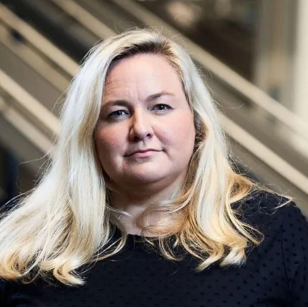 Kristin Hovland, kommunikasjonsjef i Komplett.