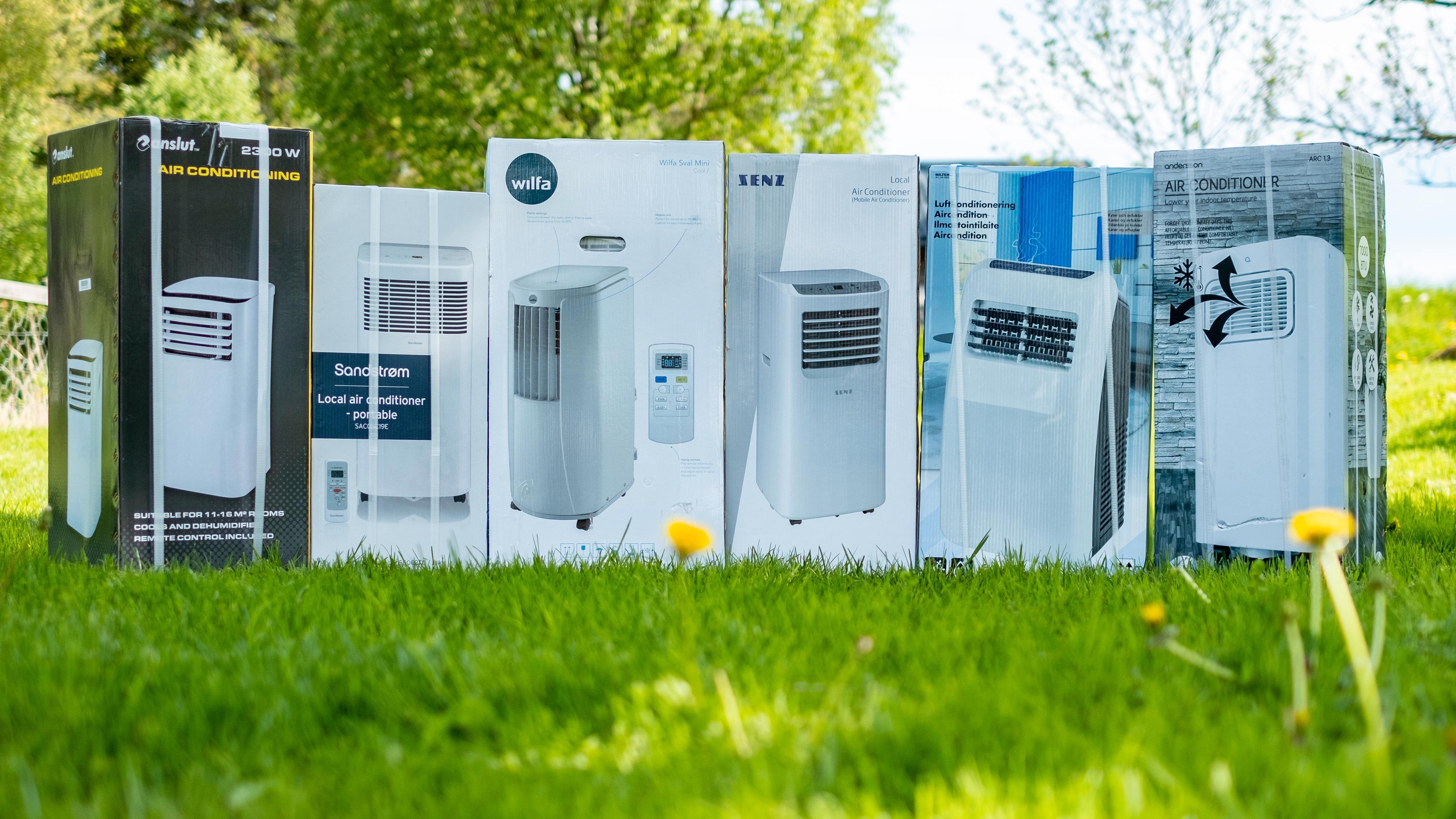 Vi tok inn seks av markedets billigste klimaanlegg til test. De starter på rundt 2500 kroner, og forskjellene er store.
