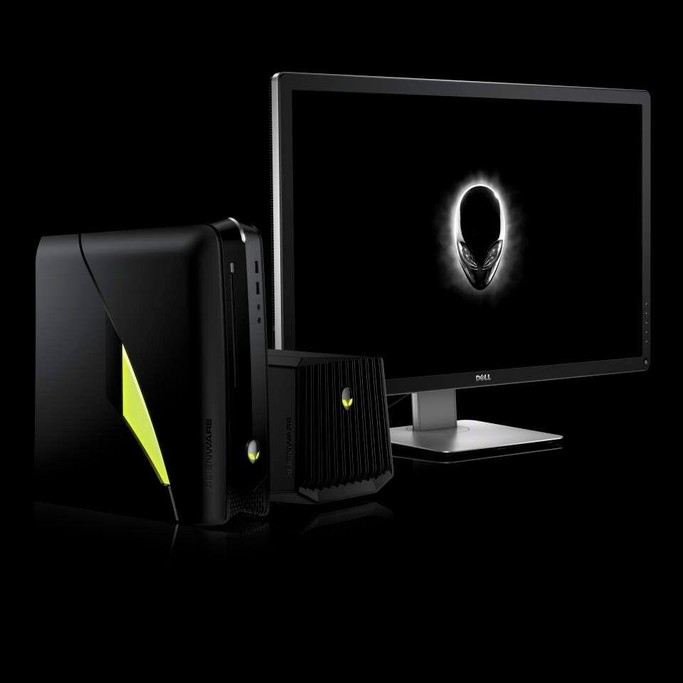 Vi vet ennå ikke mye om skjermen, og dette er det eneste bildet vi har av den. Foto: Dell
