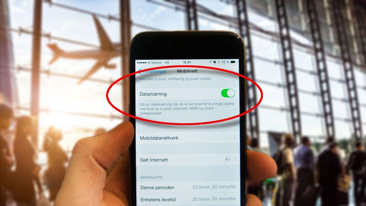 Triksene du bør kunne hvis du skal bruke mobil i utlandet