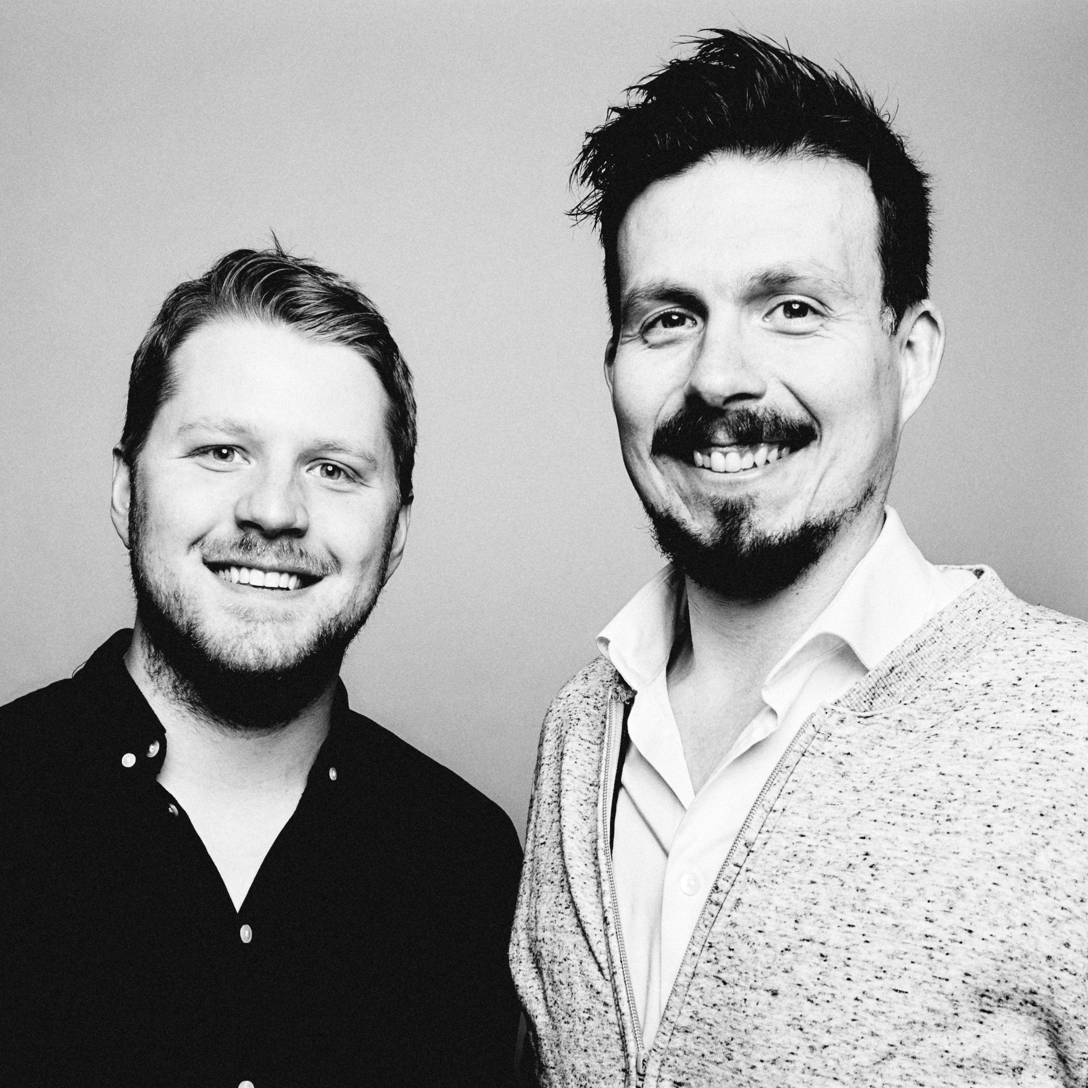 Fredrik Sjaastad Næss og Bjørn-Henning Ødegaard i «Konspirasjonspodden».