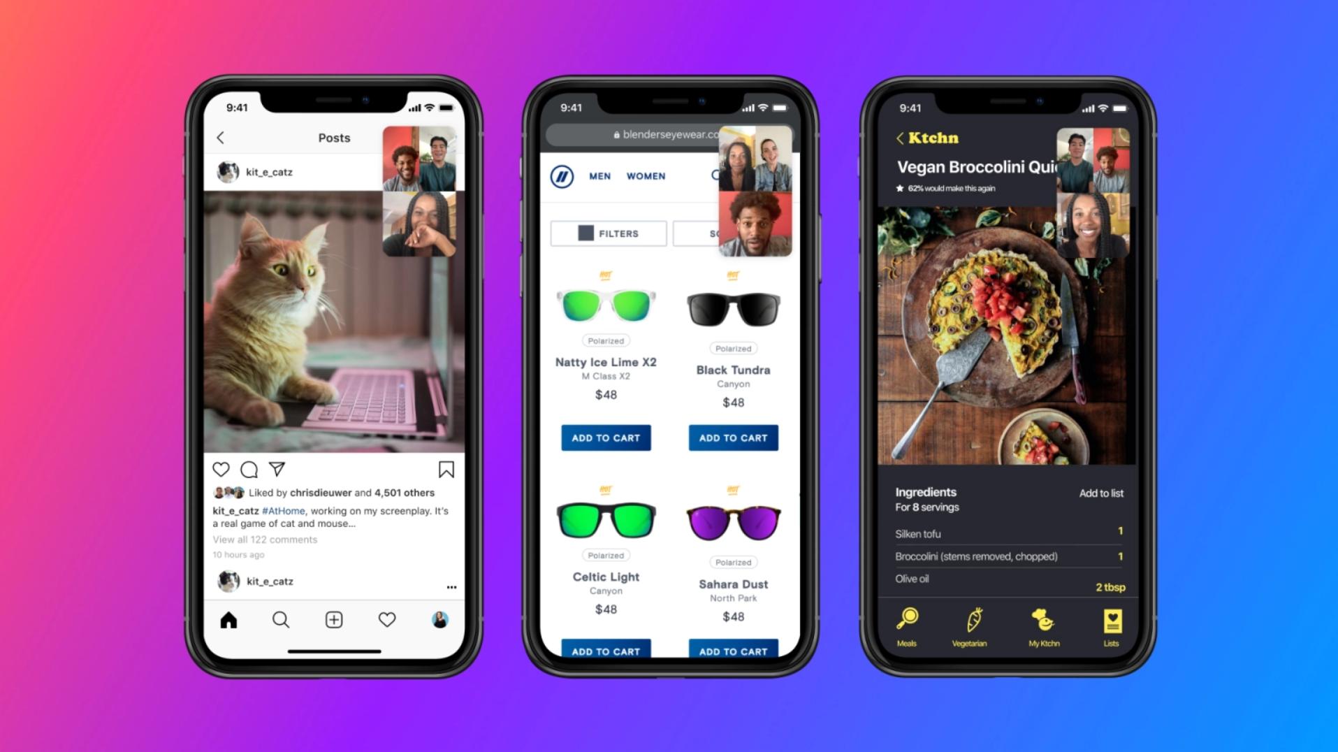 Nå kan du dele mobilskjermen på Messenger