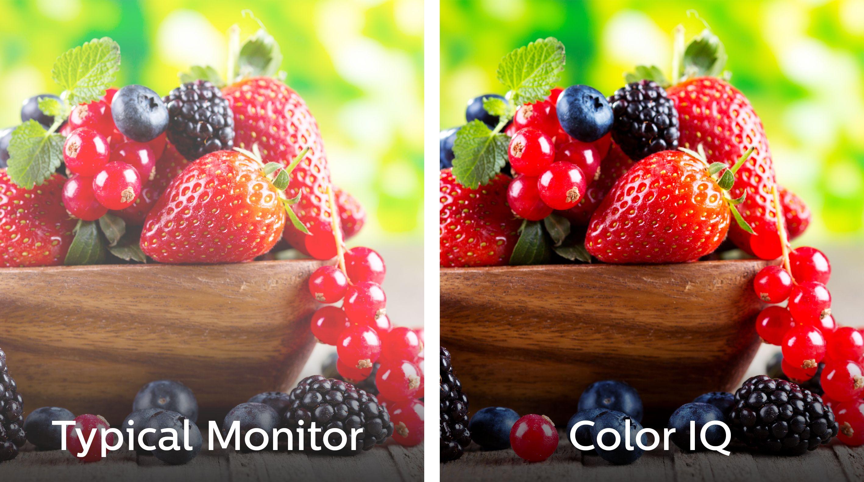 Teknologien skal gi langt bredere fargespekter og bedre fargemetning enn vanlig LCD. Foto: Philips