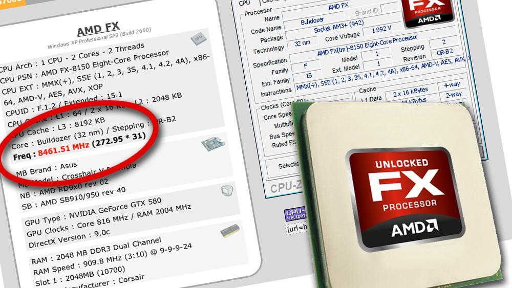 Én mann slo AMDs verdensrekord i overklokking
