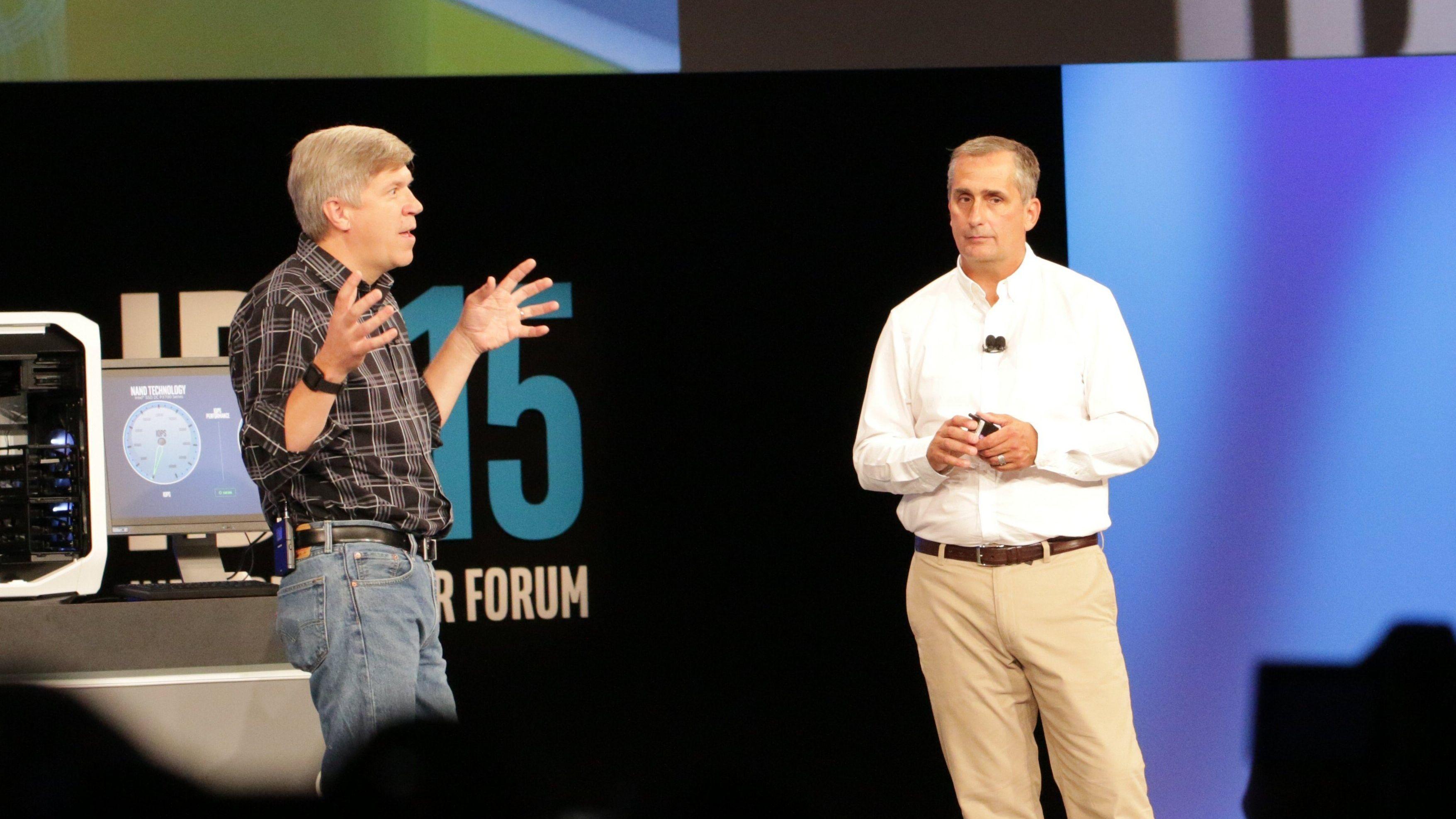Intel demonstrerte superrask SSD