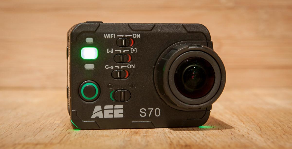 Kameraet lyser grønt når det er i opptak. WTF? Foto: Kristoffer Møllevik