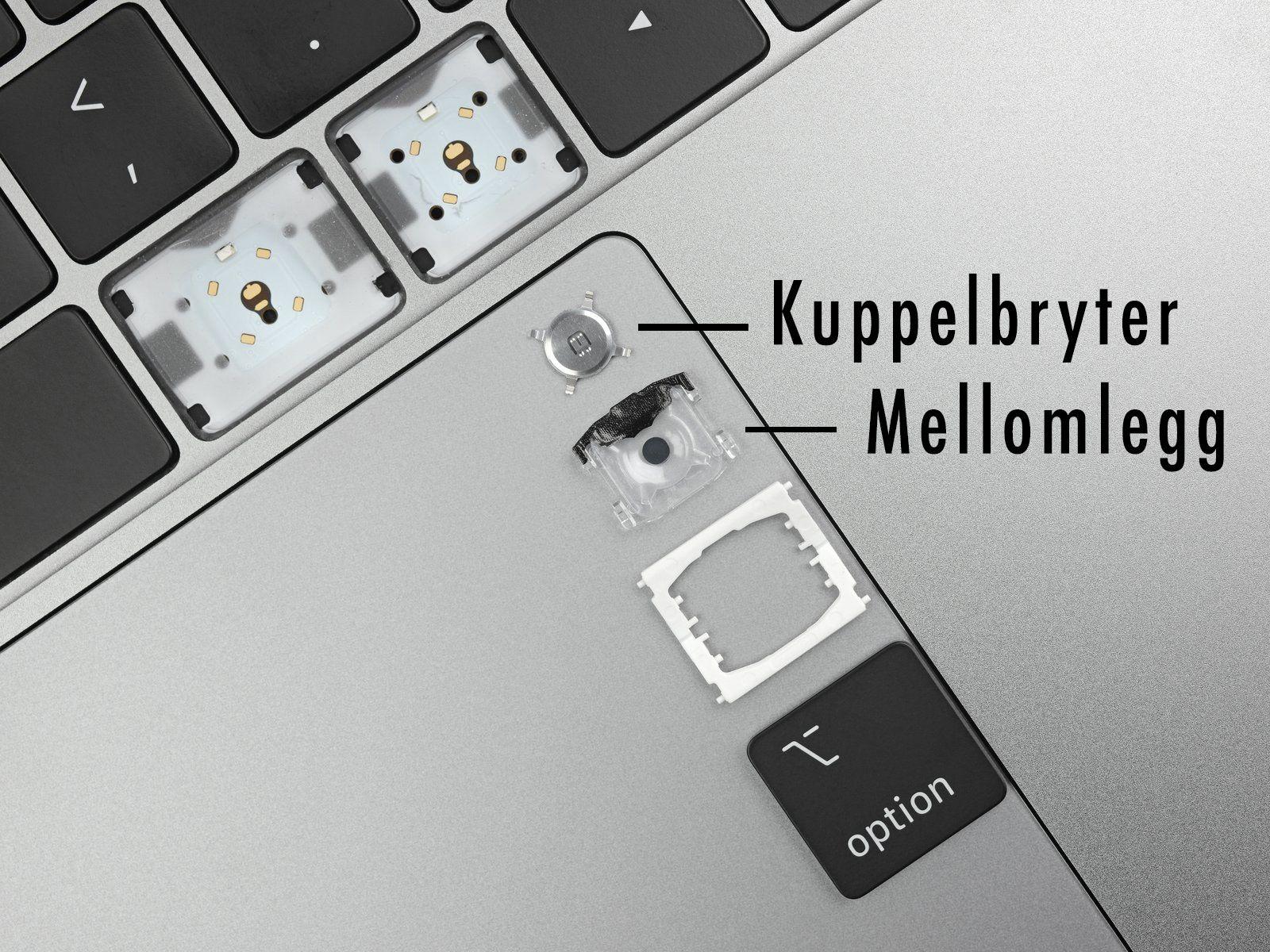 Apple lovte nytt tastatur, men ekspertene mener endringene