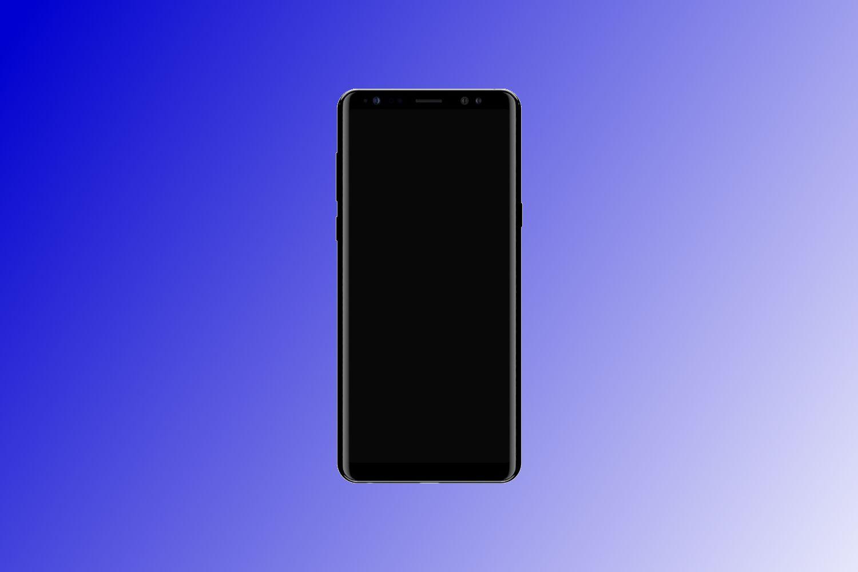 Dette bildet dukket for en tid siden opp på @slashleaks' Twitter-konto. Det skal vise forsiden på Note 8, men uten innhold på skjermen og sett rett forfra kan det like gjerne være en tilpasset Galaxy S8-grafikk det er snakk om.