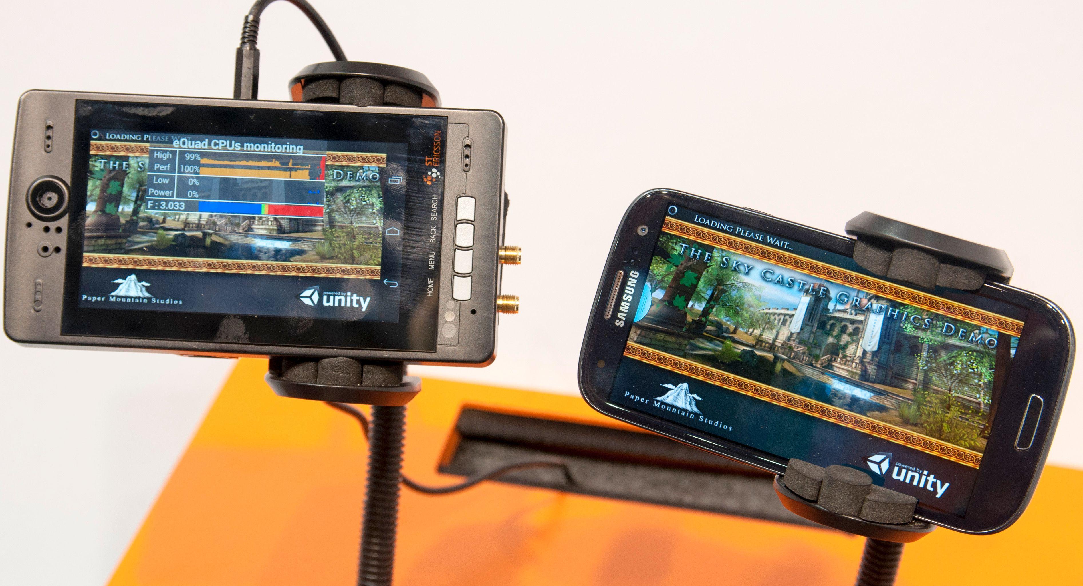 Med 3 GHz under panseret løper denne fra Galaxy S III