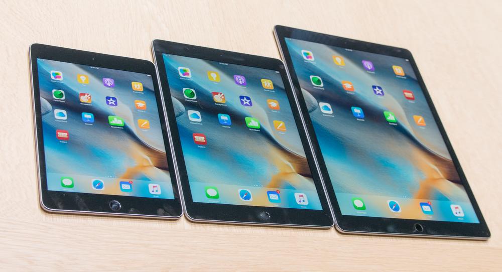 iPad-serien selger svært dårlig, ihvertfall sammenlignet med tidligere år og iPhone-salget. Foto: Finn Jarle Kvalheim, Tek.no