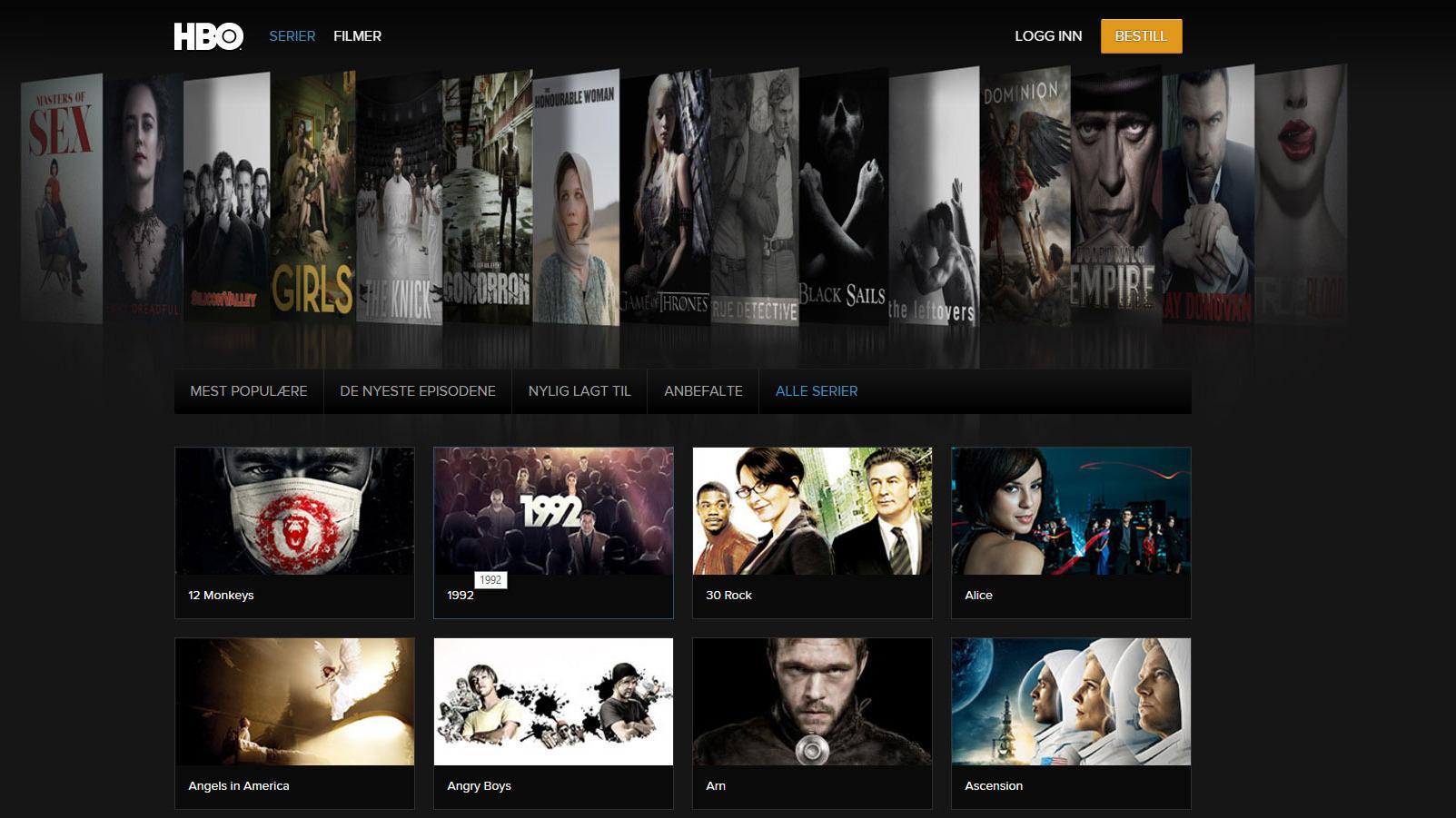 HBO Nordic. Foto: HBO Nordic
