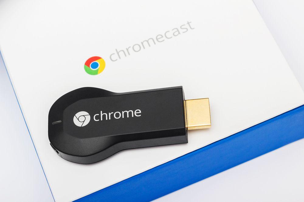 Det er ikke umulig at Google skal vise frem en ny Chromecast på konferansen. Foto: Robert Fruehauf/Shutterstock.com