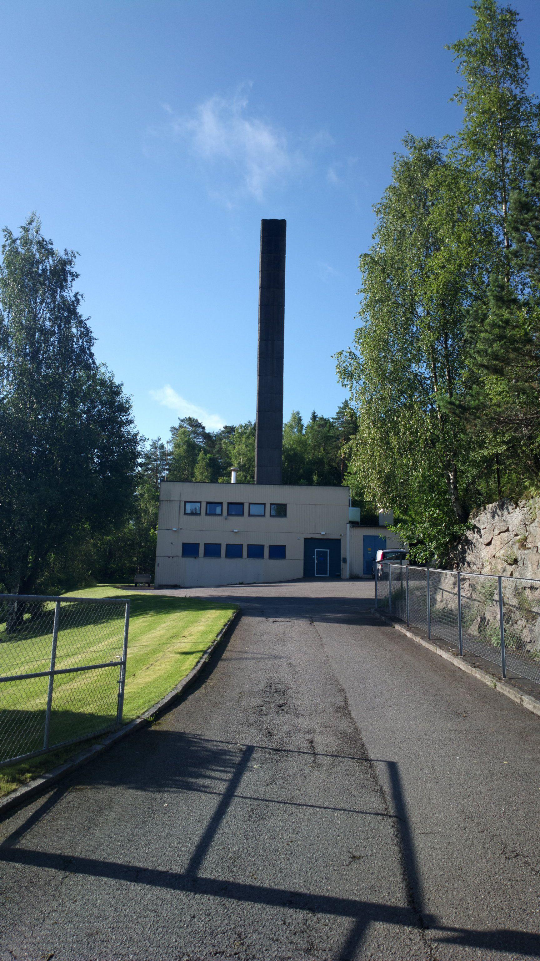 Fjernvarmeanlegget på Ammerud.