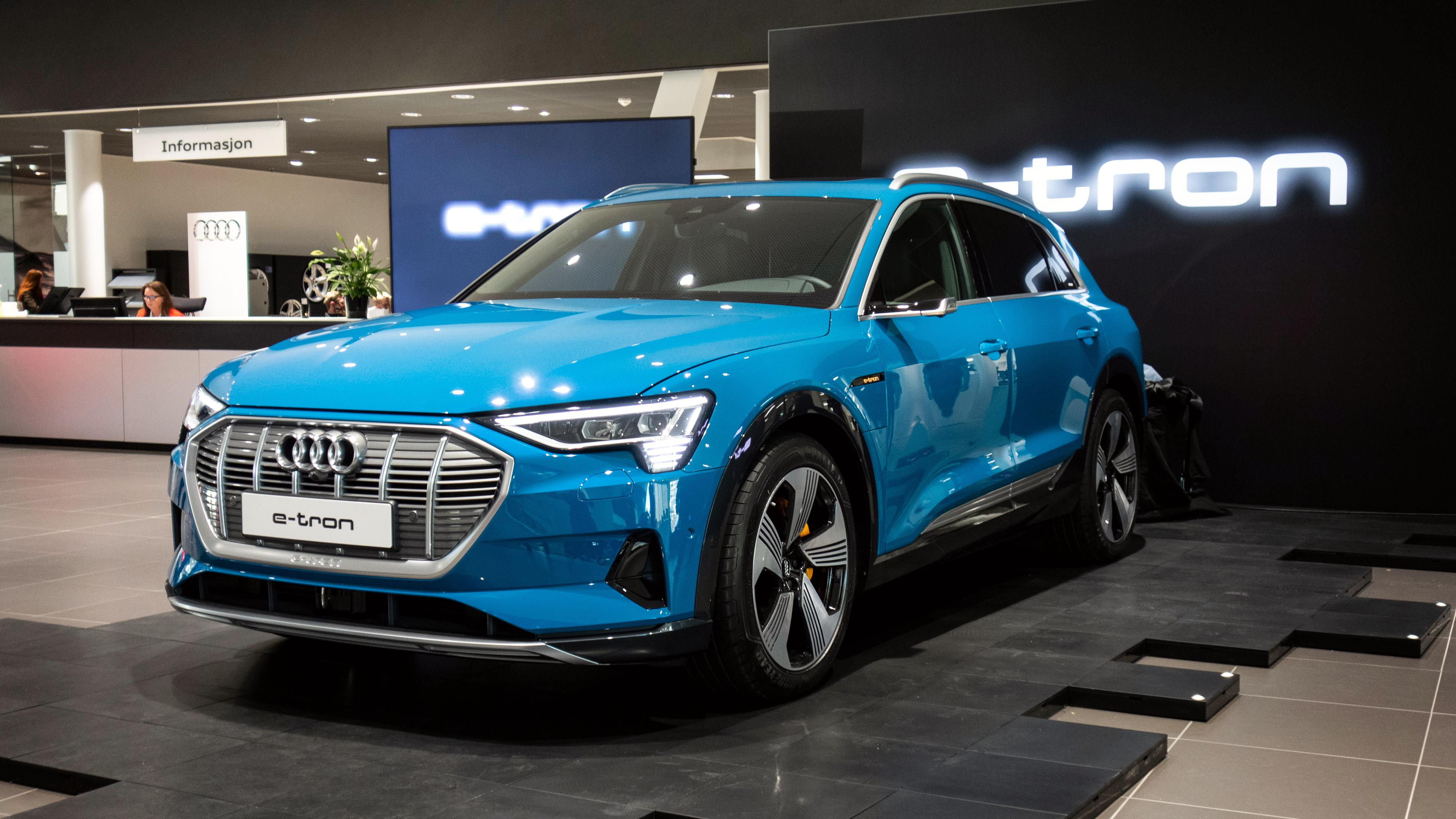 Her er Audi e-tron i Norge