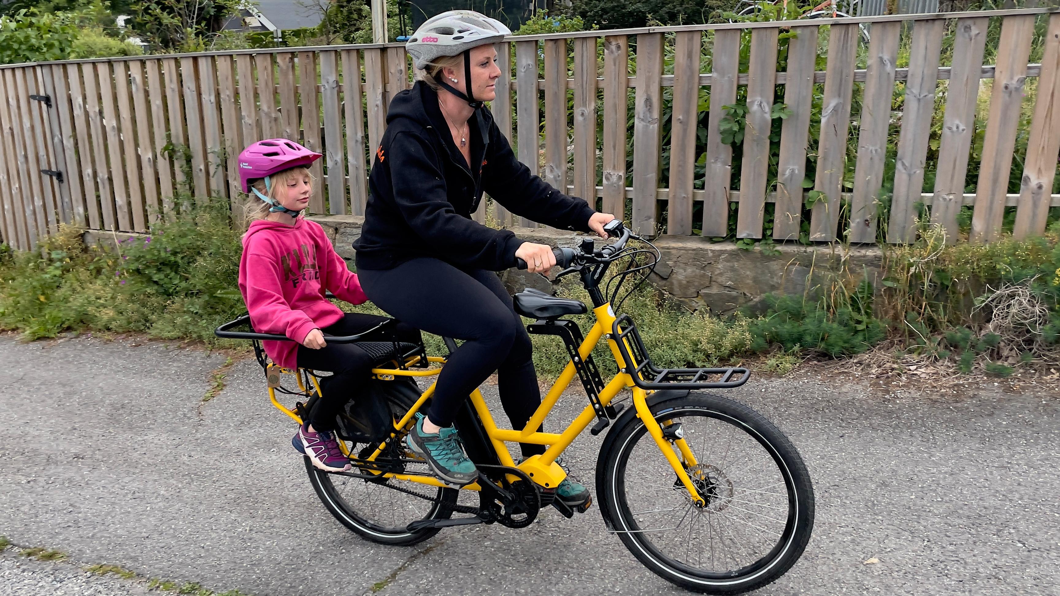 Kompakt og praktisk el-lastesykkel